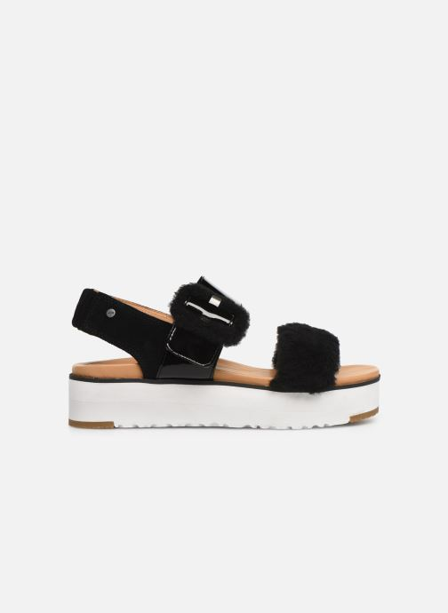 Sandales et nu-pieds UGG Le Fluff Noir vue derrière