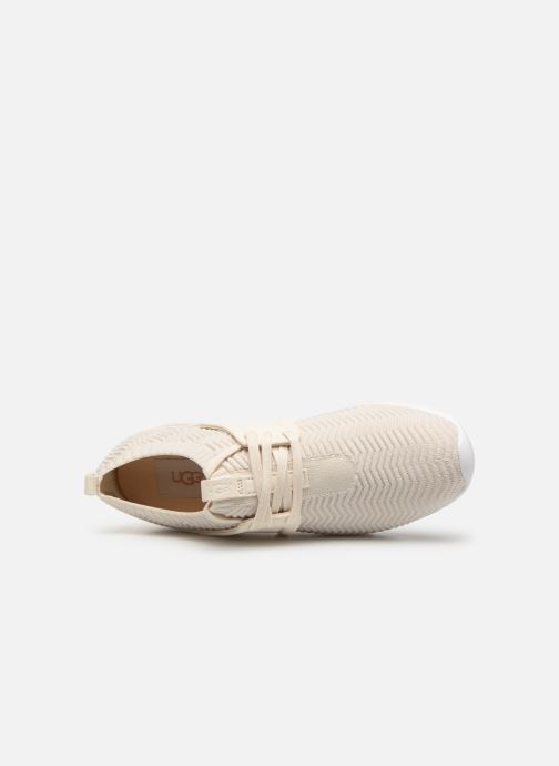 Baskets UGG Willows Beige vue gauche