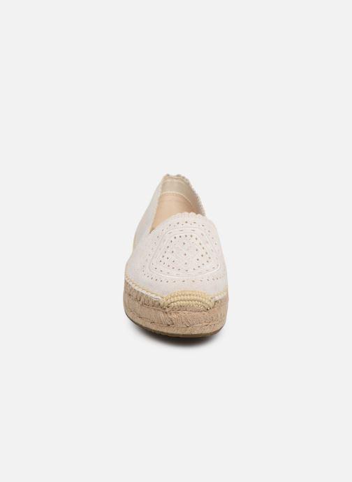 Espadrilles UGG Heidi Perf Blanc vue portées chaussures