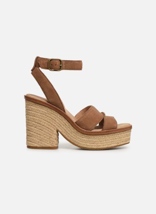 Sandalen UGG Carine braun ansicht von hinten