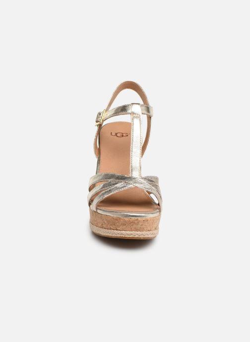 Sandales et nu-pieds UGG Melissa Metallic Or et bronze vue portées chaussures