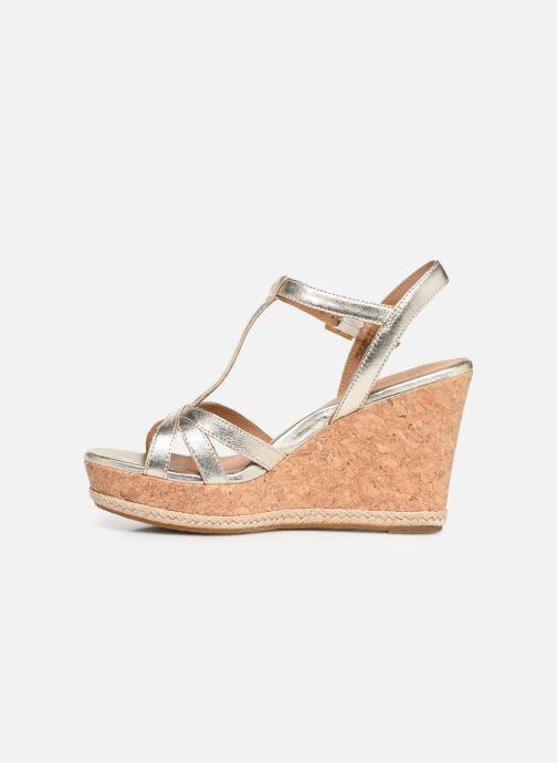 Sandales et nu-pieds UGG Melissa Metallic Or et bronze vue face