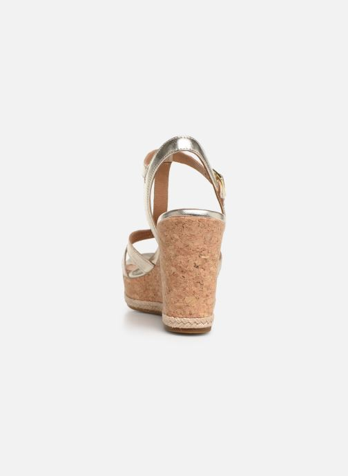 Sandales et nu-pieds UGG Melissa Metallic Or et bronze vue droite