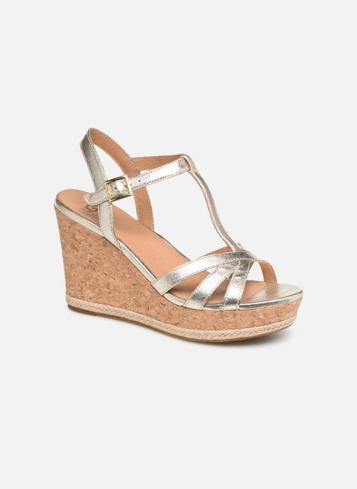 Sandales et nu-pieds UGG Melissa Metallic Or et bronze vue détail/paire