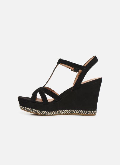 Sandales et nu-pieds UGG Melissa Noir vue face