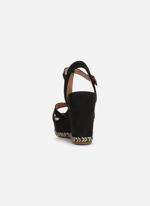 Sandales et nu-pieds UGG Melissa Noir vue droite