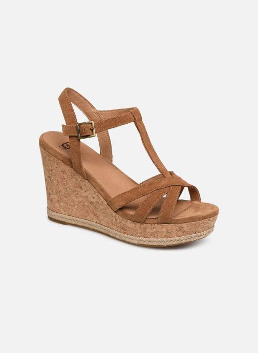Sandales et nu-pieds UGG Melissa Marron vue détail/paire