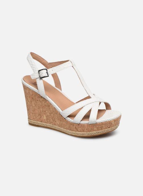 Sandales et nu-pieds UGG Melissa Blanc vue détail/paire