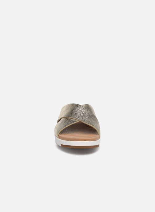 Mules et sabots UGG Kari Metallic Or et bronze vue portées chaussures