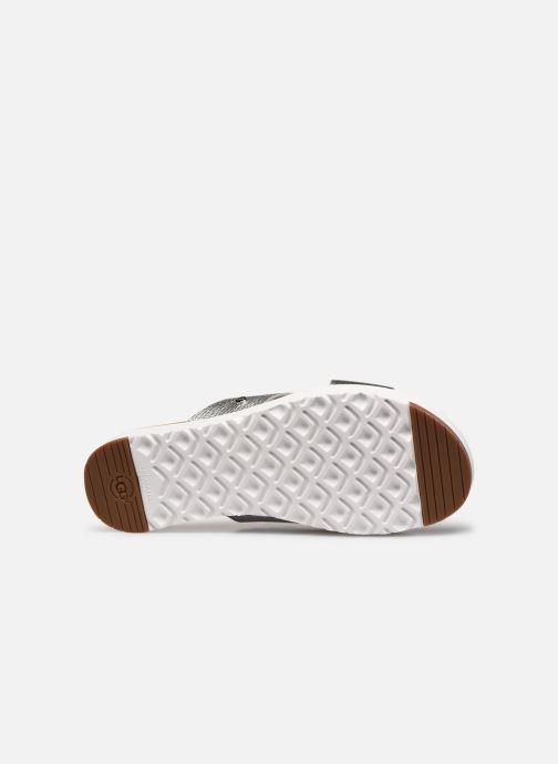 Clogs & Pantoletten UGG Kari Metallic silber ansicht von oben