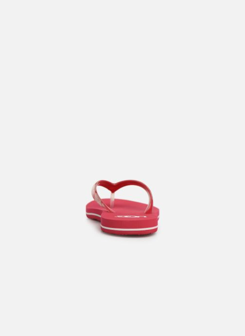 Tongs UGG Simi Graphic Rose vue droite