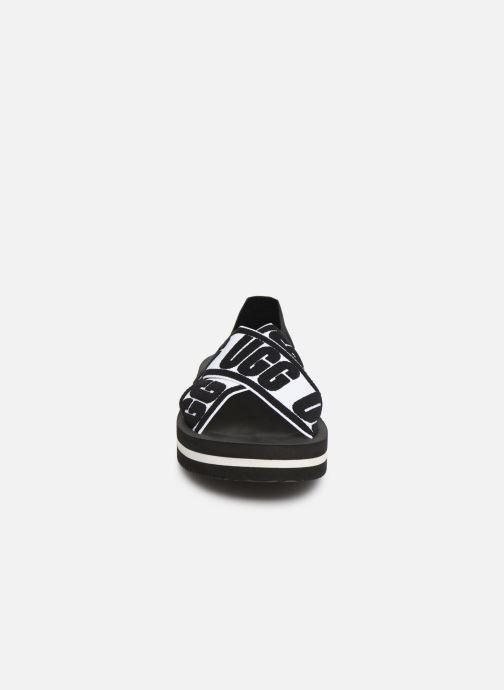 Sandales et nu-pieds UGG Marmont Graphic Noir vue portées chaussures