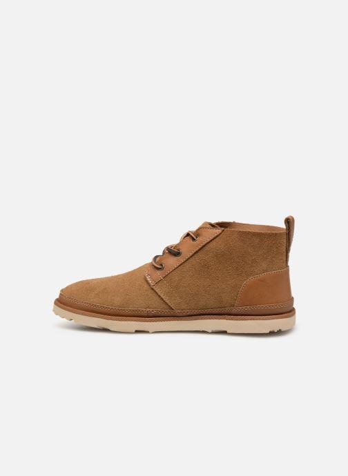 Boots en enkellaarsjes UGG Neumel Unlined Leather Bruin voorkant