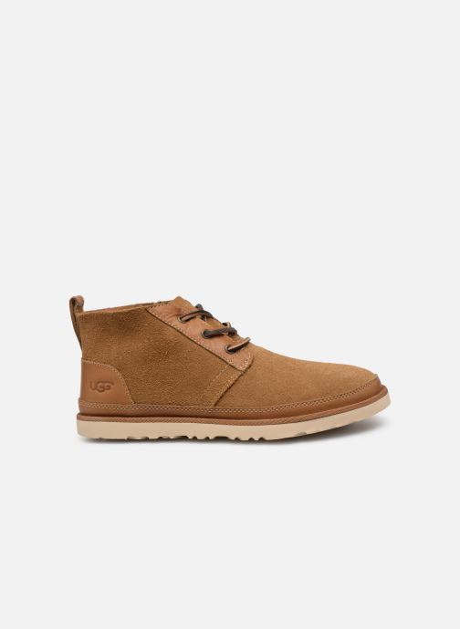 Botines  UGG Neumel Unlined Leather Marrón vistra trasera