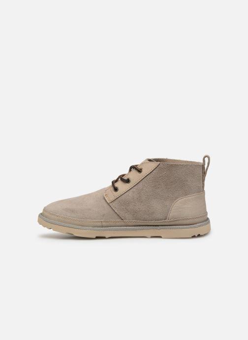 Bottines et boots UGG Neumel Unlined Leather Beige vue face