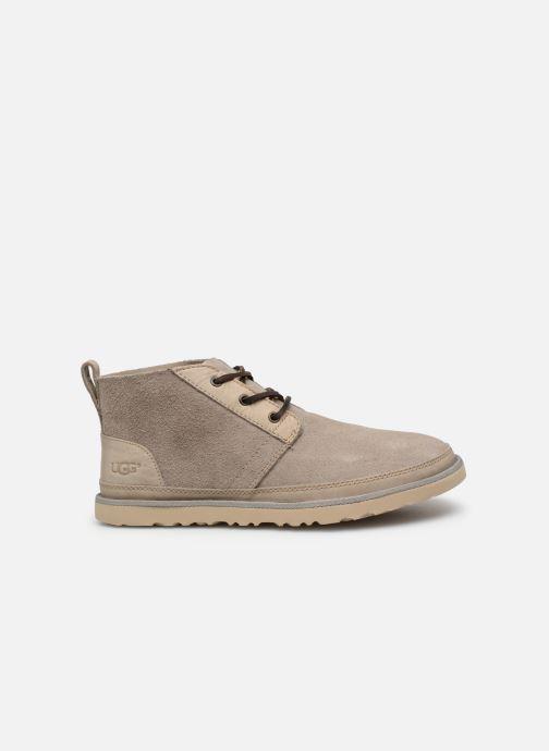 Bottines et boots UGG Neumel Unlined Leather Beige vue derrière