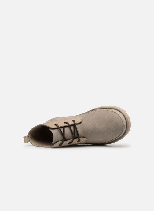 Botines  UGG Neumel Unlined Leather Beige vista lateral izquierda