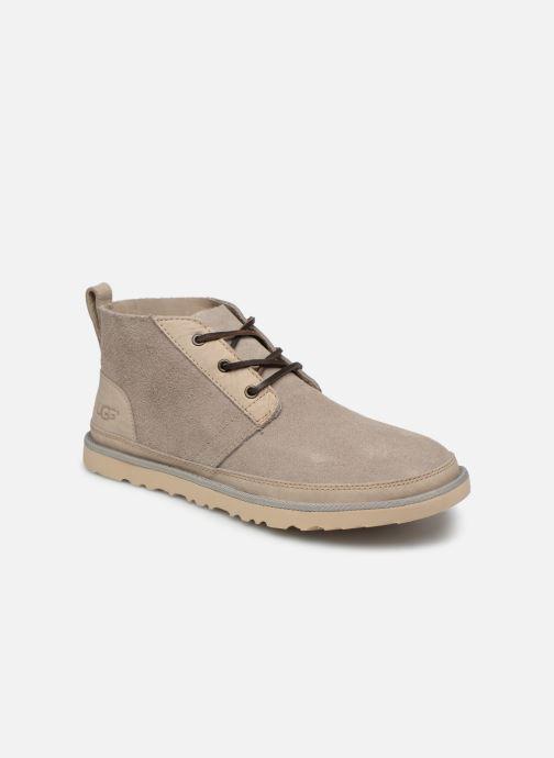 Bottines et boots UGG Neumel Unlined Leather Beige vue détail/paire