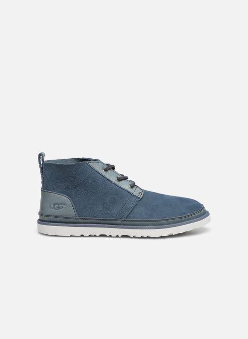 Botines  UGG Neumel Unlined Leather Azul vistra trasera