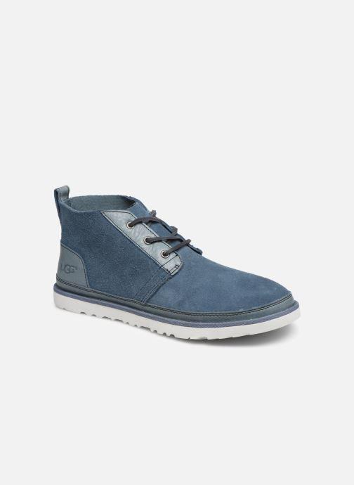 Botines  UGG Neumel Unlined Leather Azul vista de detalle / par