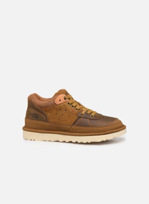 Sneaker UGG Highland Sneaker braun ansicht von hinten