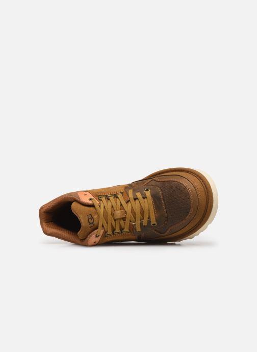 Baskets UGG Highland Sneaker Marron vue gauche