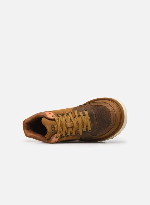 Baskets UGG Highland Sneaker Marron vue gauche