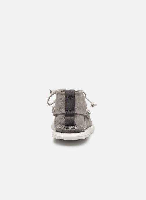 Zapatos con cordones UGG Beach Moc Chukka Gris vista lateral derecha