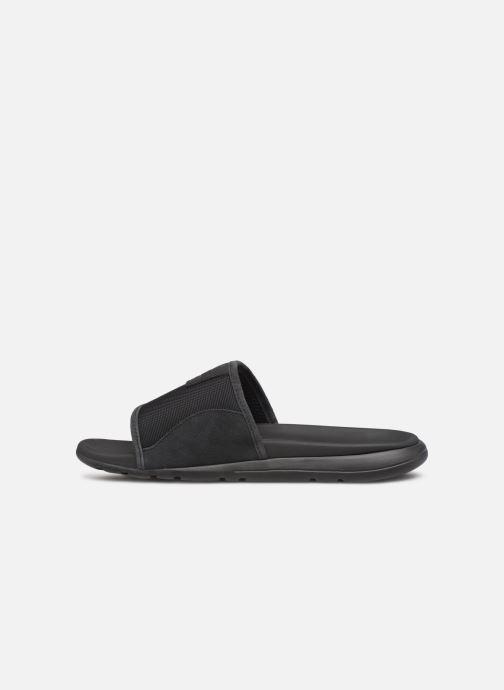 Sandalen UGG Xavier Ballistic Slide schwarz ansicht von vorne