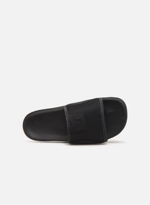 Sandalen UGG Xavier Ballistic Slide schwarz ansicht von links