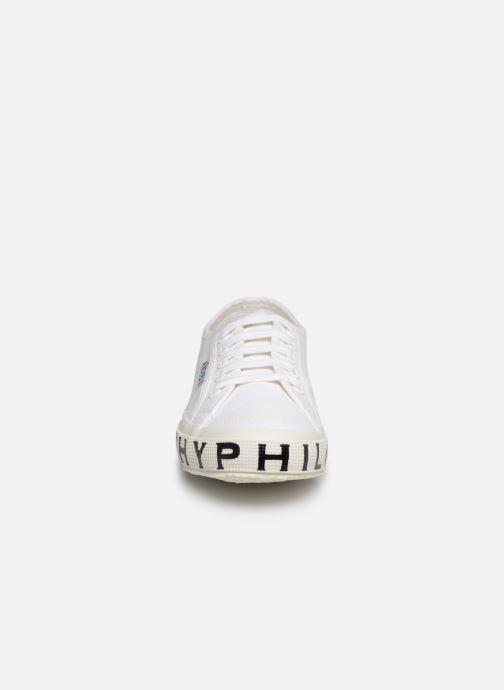 Baskets Philosophy x Superga Sofia Blanc vue portées chaussures