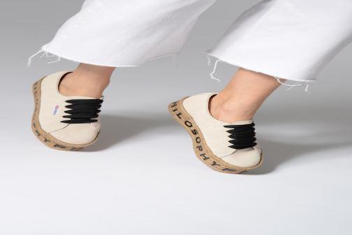 Sneakers Philosophy x Superga Giulia Rosso immagine dal basso