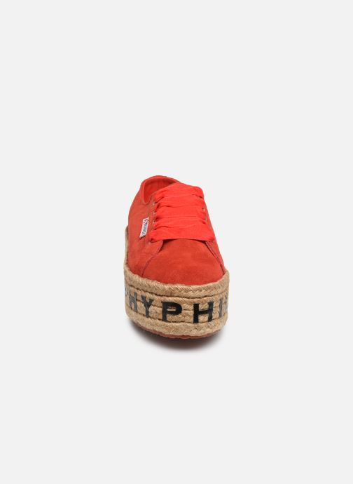 Trainers Philosophy x Superga Giulia Red model view