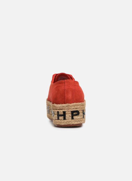 Baskets Philosophy x Superga Giulia Rouge vue droite