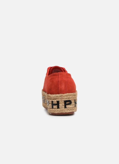 Trainers Philosophy x Superga Giulia Red view from the right