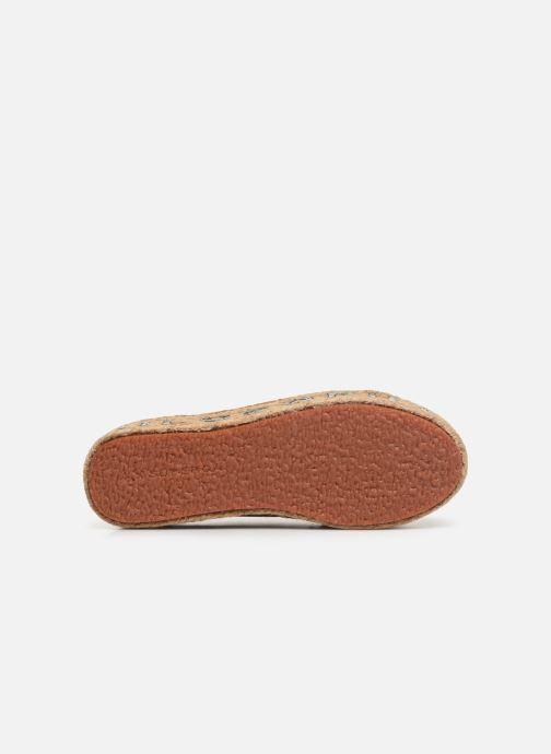 Sneakers Philosophy x Superga Giulia Rosso immagine dall'alto