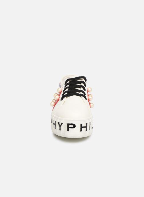 Baskets Philosophy x Superga Aurora Blanc vue portées chaussures