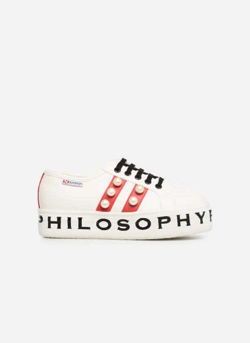 Baskets Philosophy x Superga Aurora Blanc vue derrière