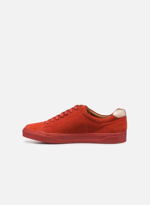 Sneaker Melvin & Hamilton ADRIAN 1 rot ansicht von vorne