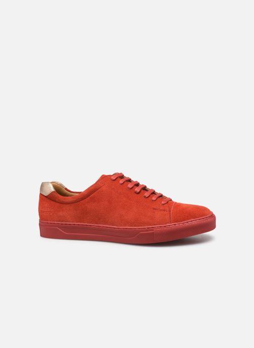 Sneaker Melvin & Hamilton ADRIAN 1 rot ansicht von hinten