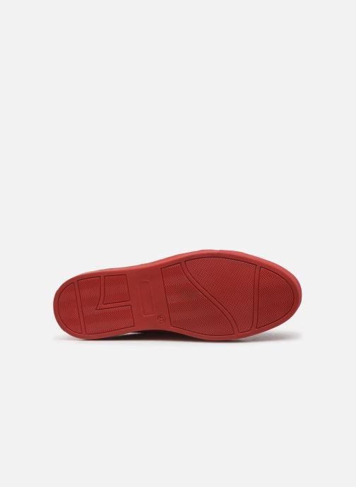 Sneaker Melvin & Hamilton ADRIAN 1 rot ansicht von oben
