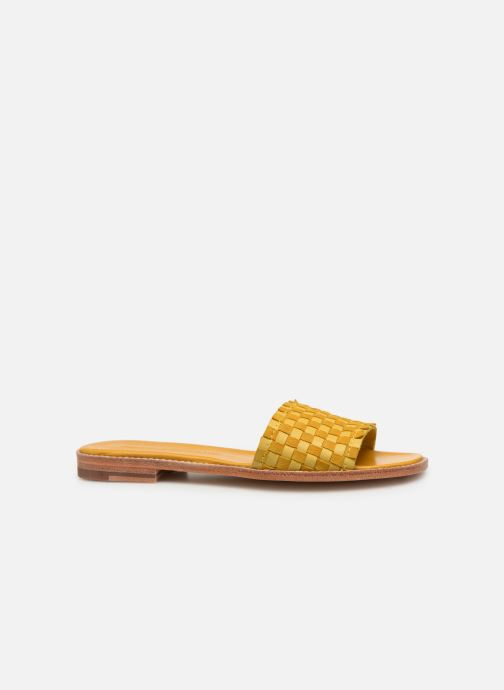 Mules & clogs Melvin & Hamilton ELODIE 12 Yellow back view