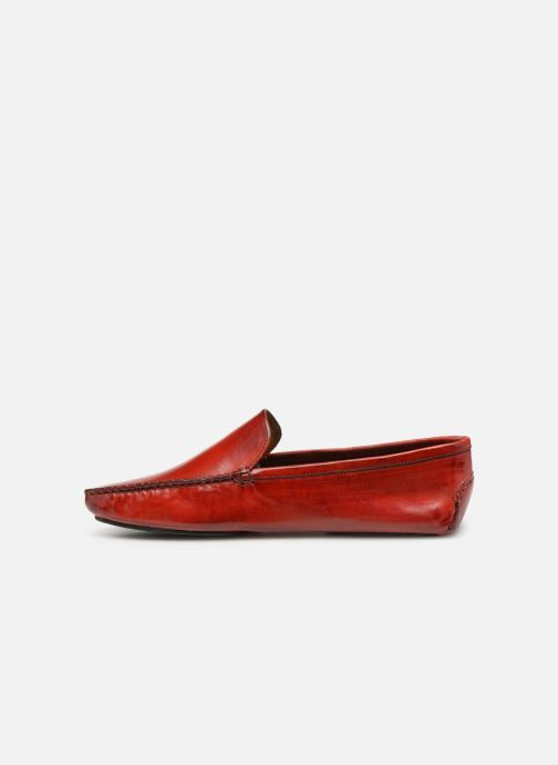 Loafers Melvin & Hamilton HOME DONNA Red front view