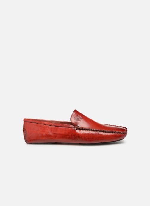Loafers Melvin & Hamilton HOME DONNA Red back view