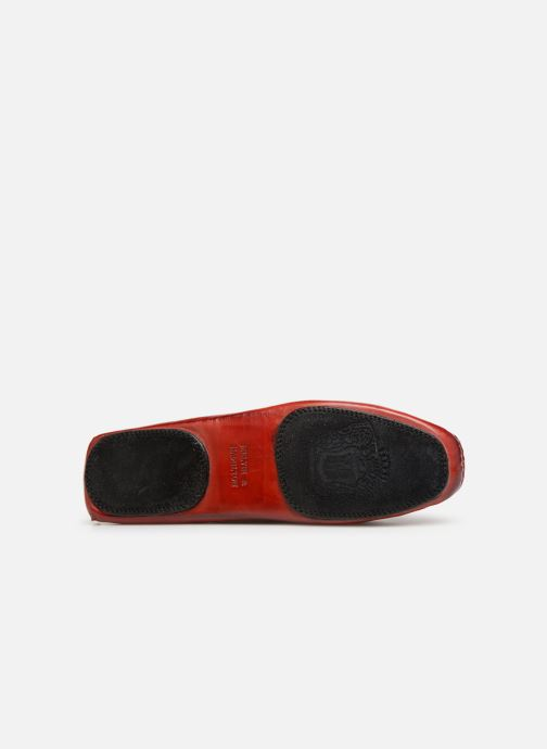 Loafers Melvin & Hamilton HOME DONNA Red view from above
