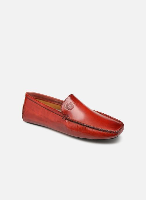 Loafers Melvin & Hamilton HOME DONNA Red detailed view/ Pair view
