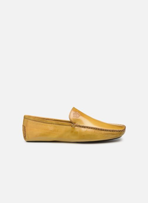 Loafers Melvin & Hamilton HOME DONNA Yellow back view