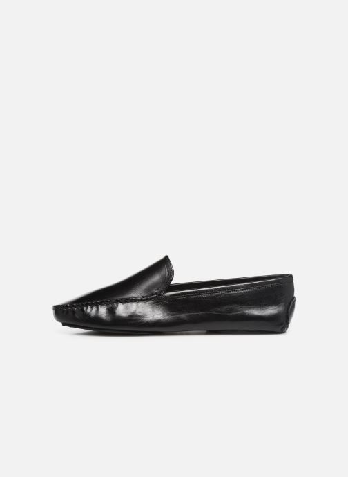 Loafers Melvin & Hamilton HOME DONNA Black front view