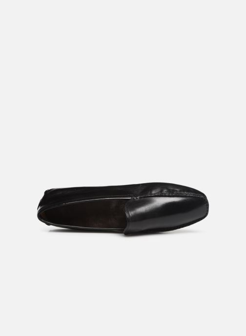 Loafers Melvin & Hamilton HOME DONNA Black view from the left