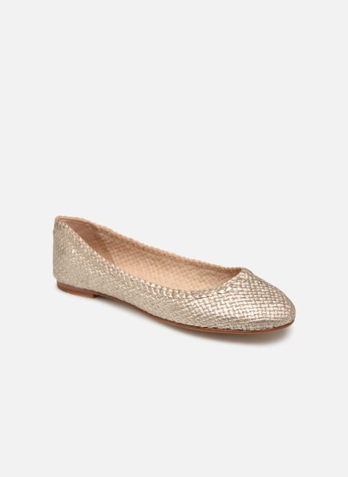 Ballet pumps Melvin & Hamilton KATE 5 Bronze and Gold detailed view/ Pair view